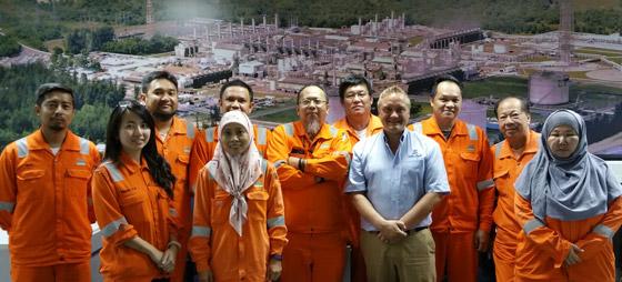 EffecTech Training Academy courses at Brunei LNG