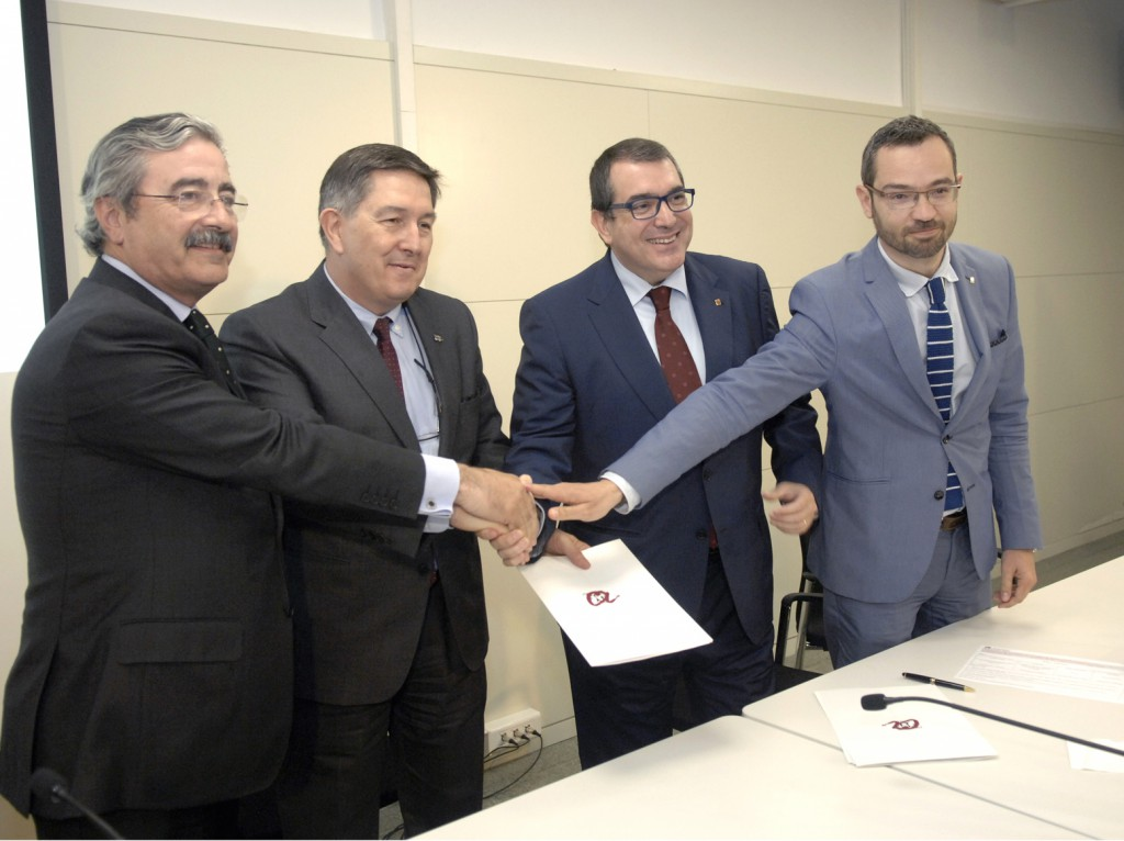 Kim Faura, Josep Anton Ferré, Jordi Jané and Federic Adan.