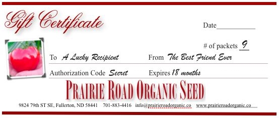 9-pack Gift Certificate