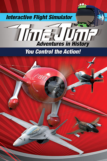 Time Jump flight simulator