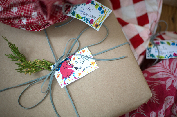 Phoebe Wahl Gift Tags