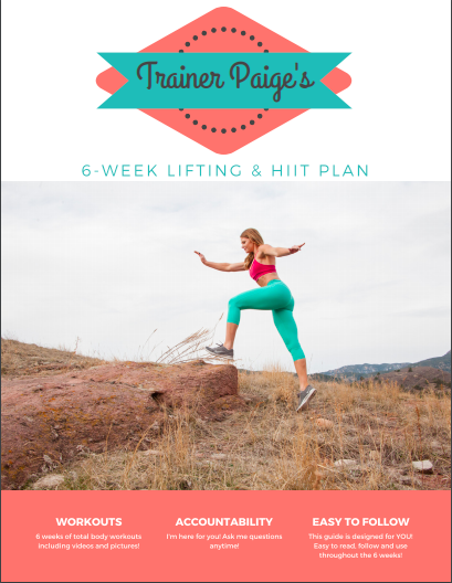 My 6-Week Strength & HIIT Fat Loss Plan is Back — only through Sunday!
