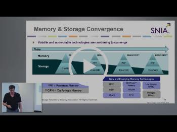 SNIA Persistent Memory Introduction with Rob Peglar