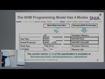 SNIA NVM Programming Model with Rob Peglar