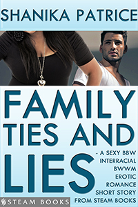 """Family Ties and Lies"" cover"
