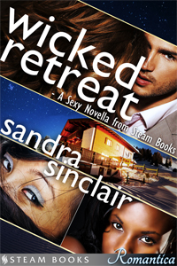 "Cover for ""Wicked Retreat"""