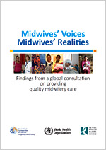 Report cover: Midwives' Voices, Midwives' Realities