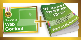 Diploma in Web Content now includes free ebook