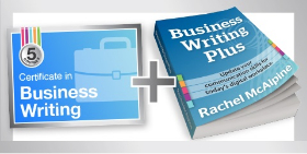 Certificate in Business Writing now includes free ebook