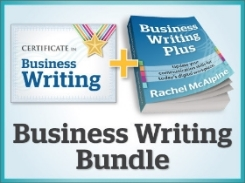 Earn 5 CPD hours with the Certificate in Business Writing: now half price