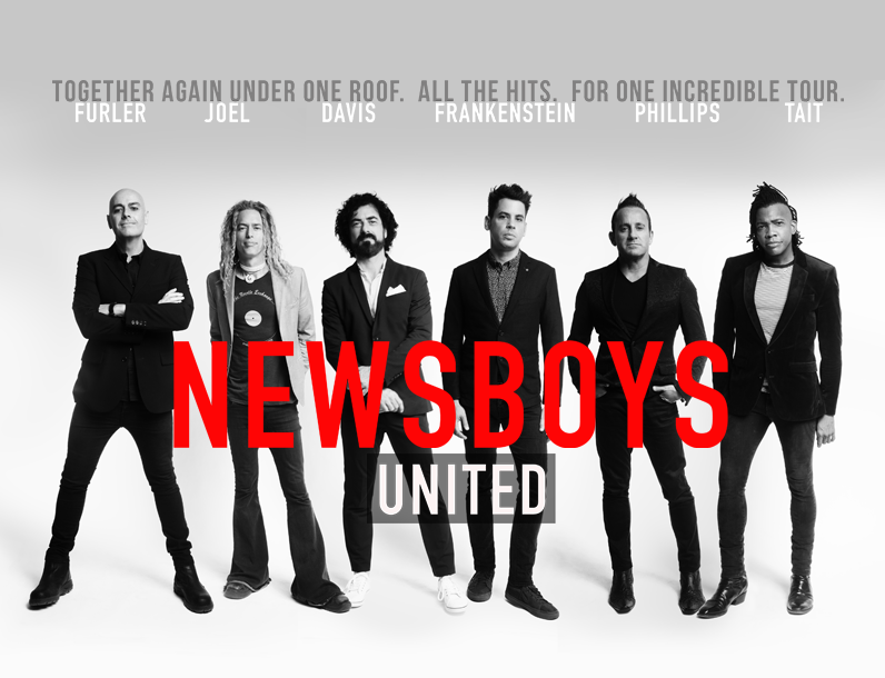 Newsboys Unite For Unprecedented 2018 Tour