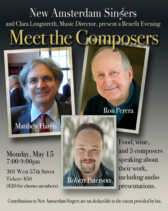 Meet the Composers graphic