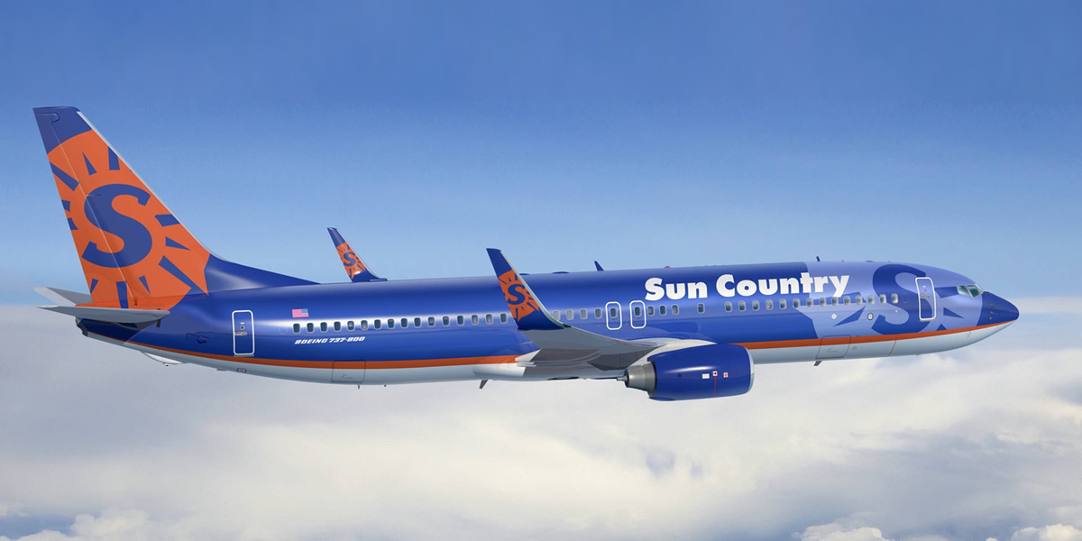 Non stop to Nevis via Sun Country Airlines