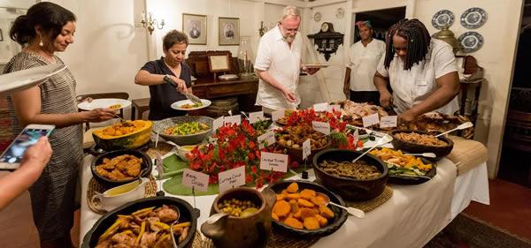 Hermitave Inn West Indian Buffet