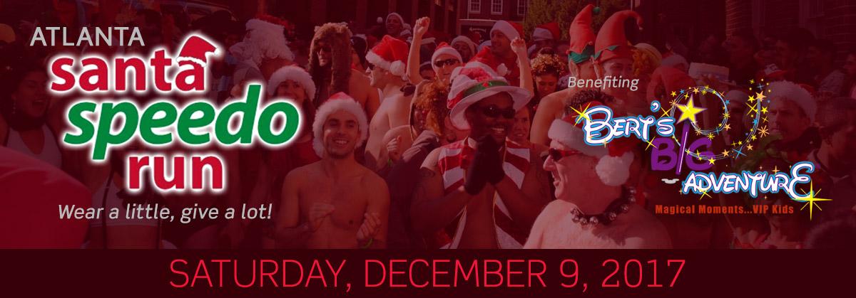 Atlanta Santa Speedo Run email banner