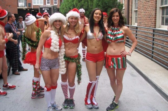 Atlanta Santa Speedo Run Dec 10th
