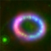 Supernova Remnant 1987A (Credit: Hubble)