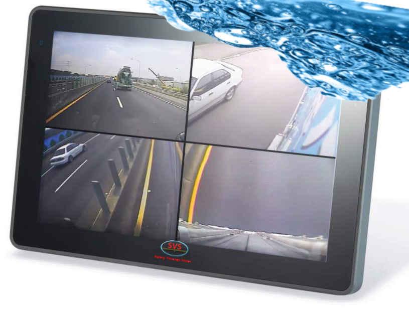 "10.1"" Waterproof monitor"
