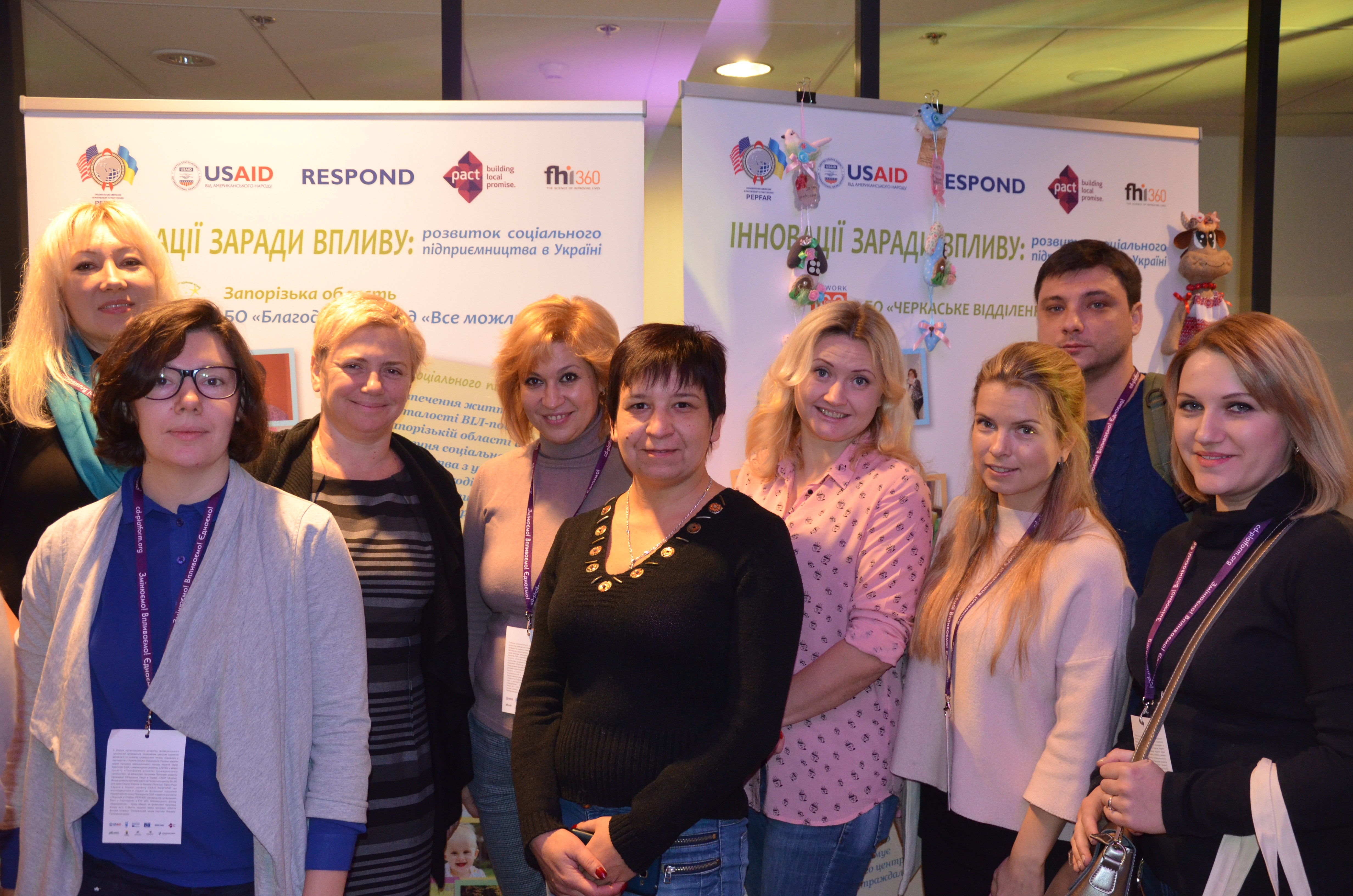 STUDIO OF OPPORTUNITIES: A NEW BEGINNING FOR A UKRAINIAN WOMAN LIVING WITH HIV