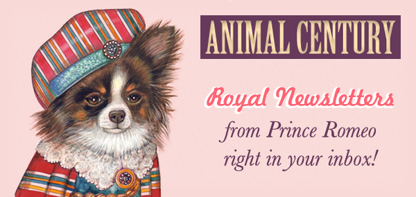 Sign Up to receive Royal Newsletters from Prince Romeo!