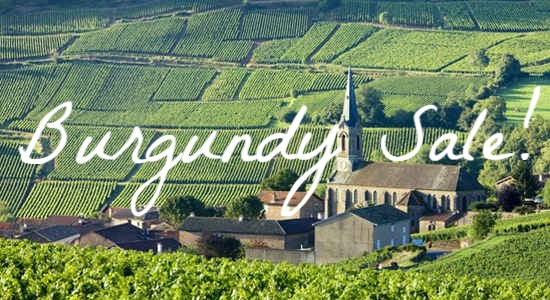 Burgundy Sale