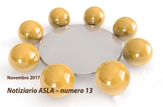 Notiziario ASLA – numero 13 – Novembre 2017