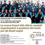 La nuova Prassi UNI-ASLA sulla gestione dei rischi per gli Studi Legali Associati