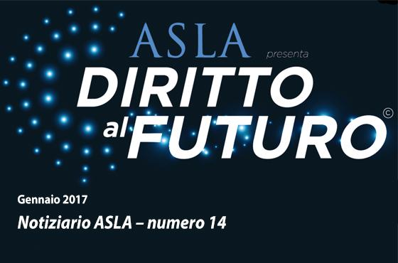 Notiziario ASLA – numero 14 – Gennaio 2018