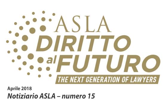 Notiziario ASLA numero 15 – Aprile 2018