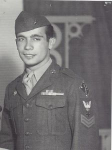 Dad in the Marines