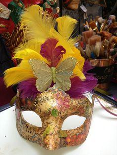 Carla Venetian Mask