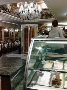 Cafe Quadri Interior