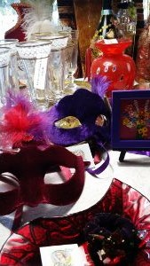 Venetian masks and gifts