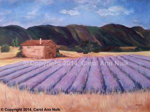 Lavender Fields, Carol Ann Nulk