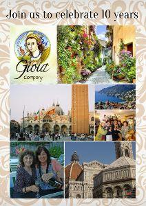10-year celebration postcard