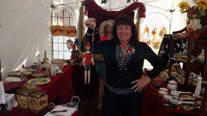 Kathy at Little Italy Festa
