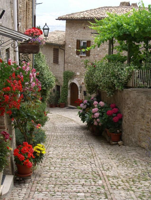 Montefalco in Umbria