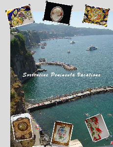 Sorrento vacation postcard