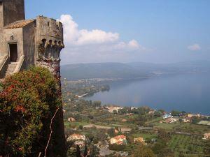 Bracciano Castle and Lake