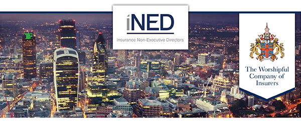 iNED and WCI logos on a London background