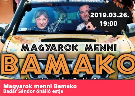 Magyarok menni Bamako