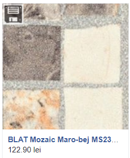 Blat Mozaic Maro-Bej