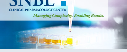 SNBL Clinical Pharmacology Center