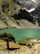 Trekking in de Fan-bergen in Tadzjikistan