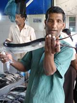 Op de markt van Kandy