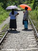 Op de spoorlijn naar Ella, Sri Lanka (foto gemaakt door Matthijs Blonk)