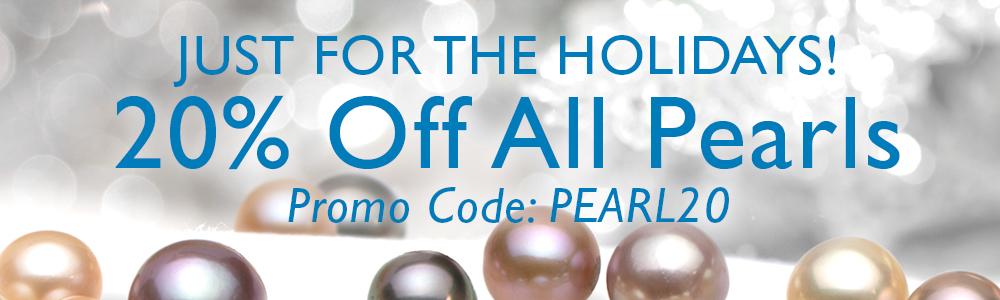 すべての真珠が20%オフ
