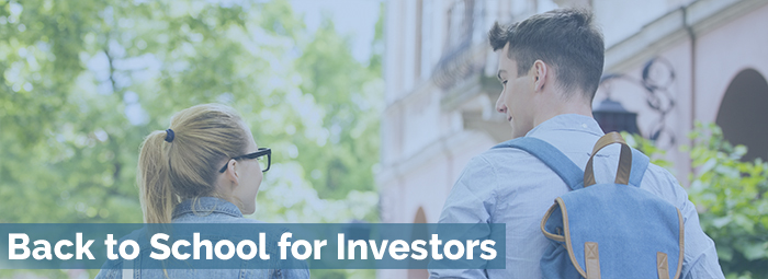 Back to School for Investors