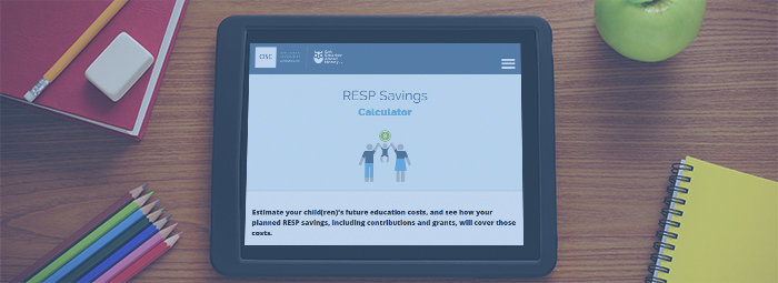 RESP Savings Calculator