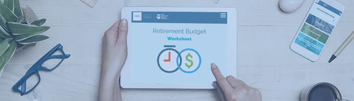 Retirement Budget Worksheet